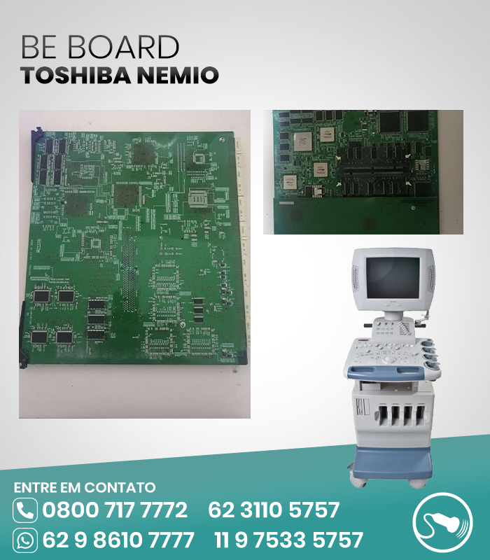 BE BOARD ULTRASSOM TOSHIBA NEMIO
