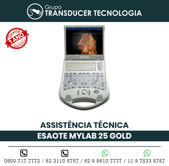 ASSISTENCIA TECNICA ULTRASSOM ESAOTE MY LAB 25 GOLD